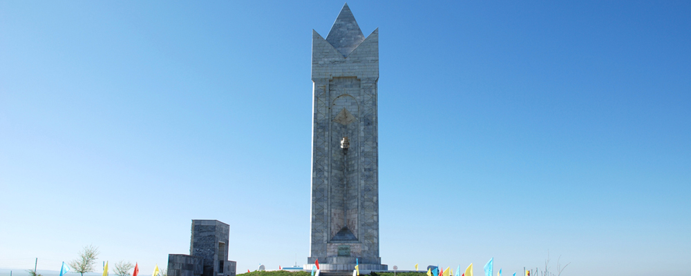 The monument of  «Birlik»